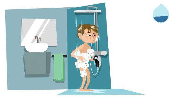 réalisation Commande de douche connectée