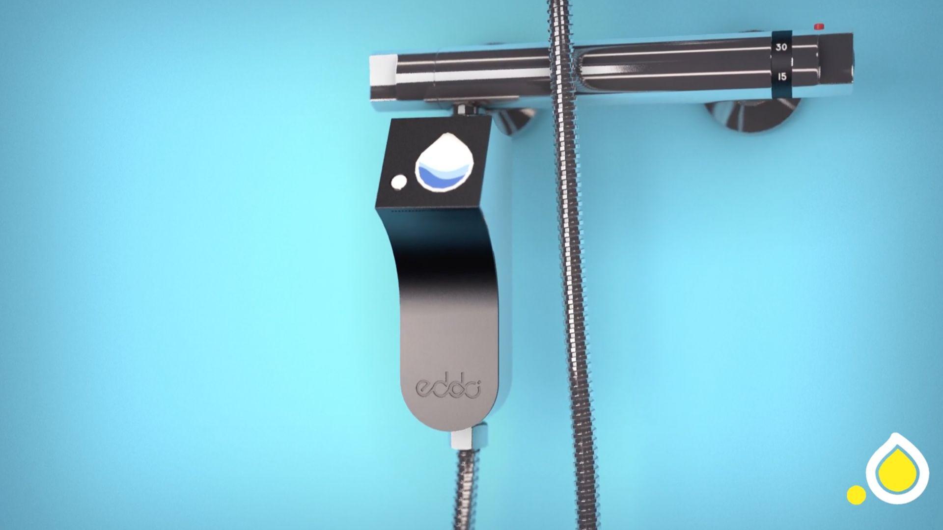 réalisation Prenez le contrôle de votre douche - Eddo Drop