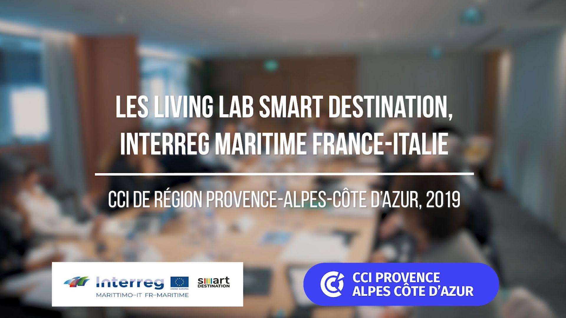 réalisation Living Lab Smart Destination