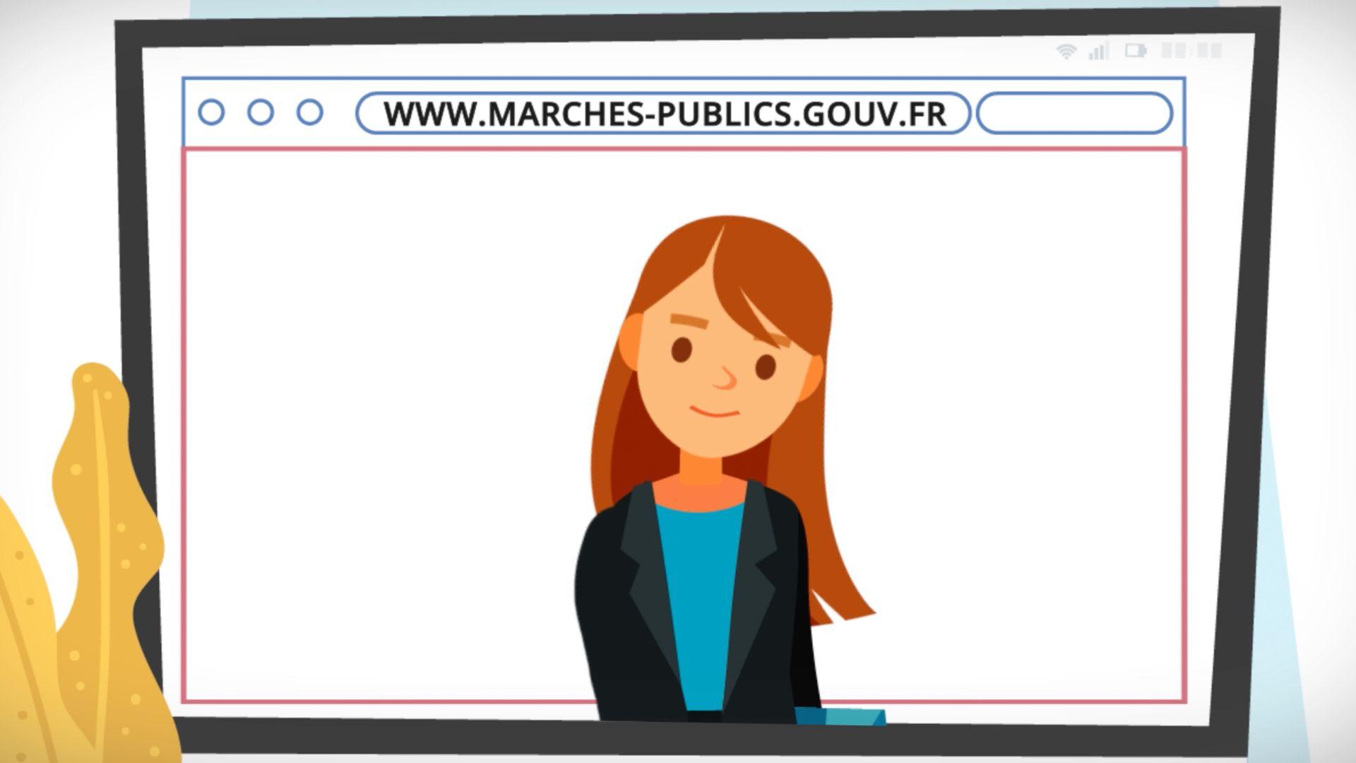 réalisation Présentation du service Marchés Publics - Préfecture BdR