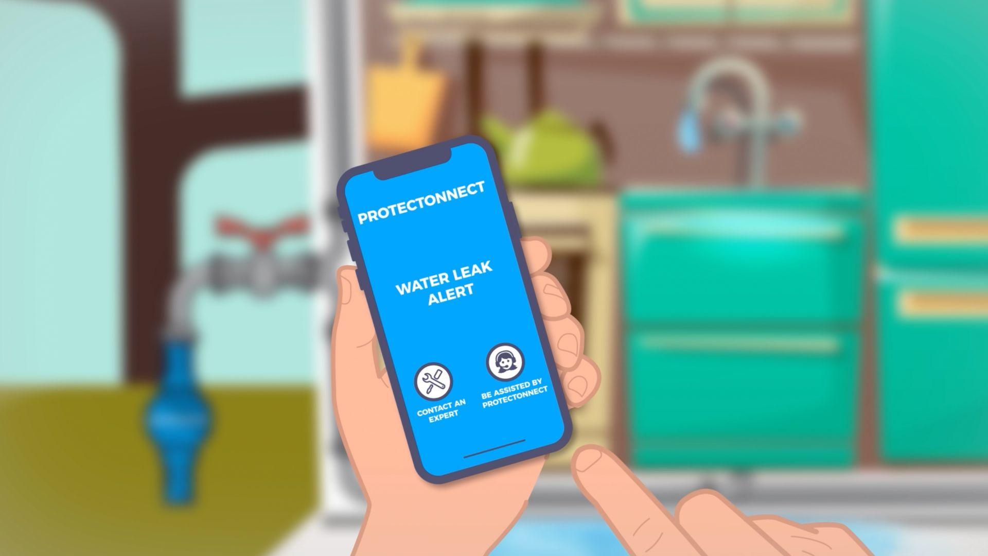 réalisation Lutter contre le gel des compteurs d'eau - Protectonnect